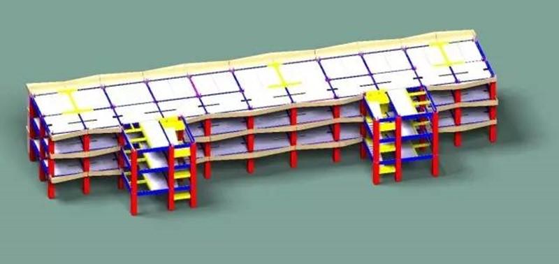BIM技术在预制装配式建筑设计中的应用—-南通政务中心停车综合楼BIM设计总结-BIMBANK