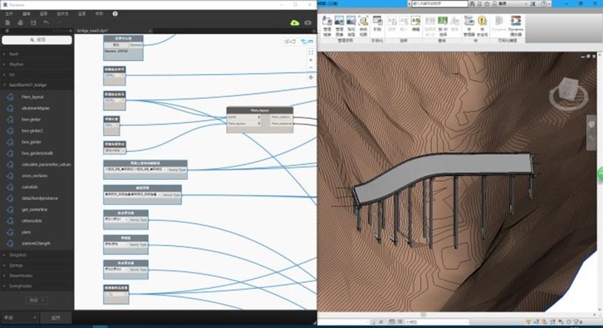 转载:C3D + REVIT + Dynamo实现桥梁的平纵横(沿线超高)