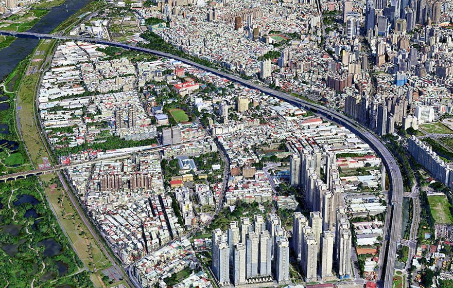 新台北市 –  如何节省80%的3D建模成本