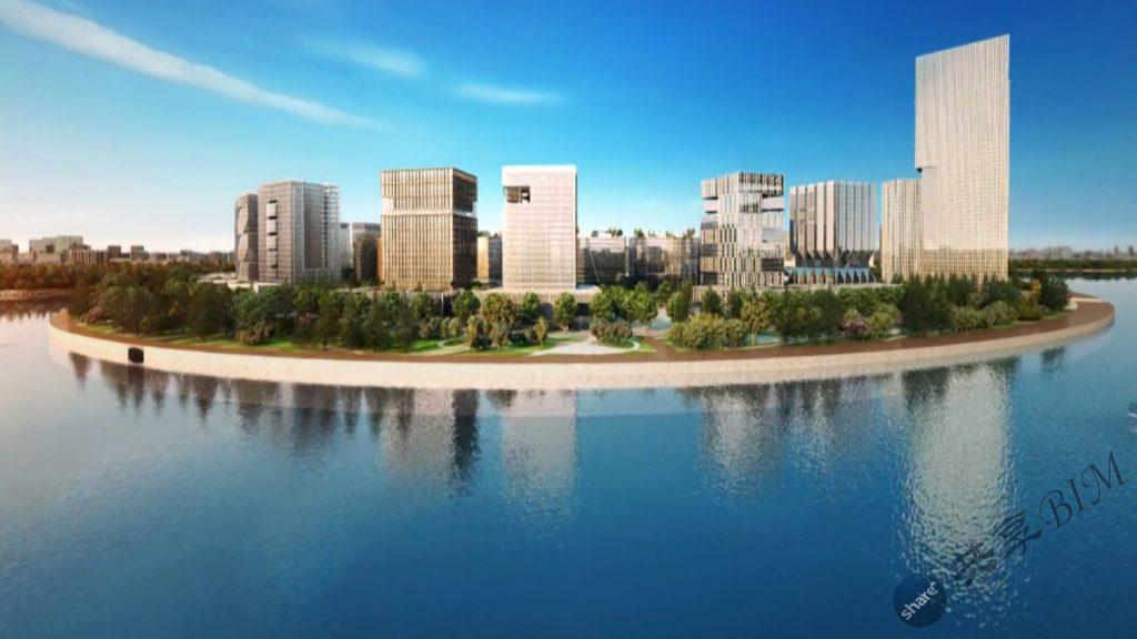 龙湖金融中心外环项目BIM技术应用汇报视频