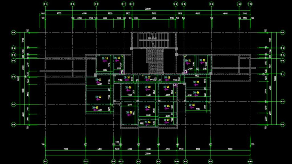 万万没想到CAD还可以这样快速算出预制构件的水平投影面积