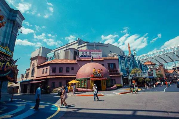 新加坡环球影城主题公园BIM应用