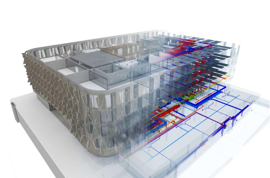 BIM技术在暖通工程设计中,如何实现设计与施工中的精细化应用?